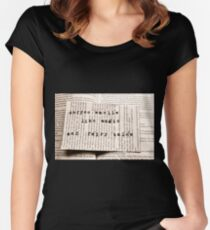 Coffee and Fairytales Women's Fitted Scoop T-Shirt