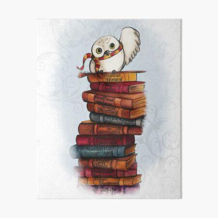 Hedwig Art Board Print
