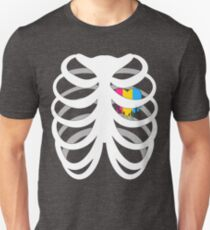 Skelehearts: Pansexual Unisex T-Shirt