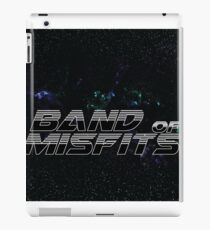 Band of Misfits Black Logo iPad Case/Skin