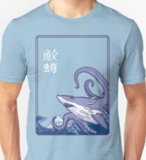 Sharktopus and the Great Wave Unisex T-Shirt
