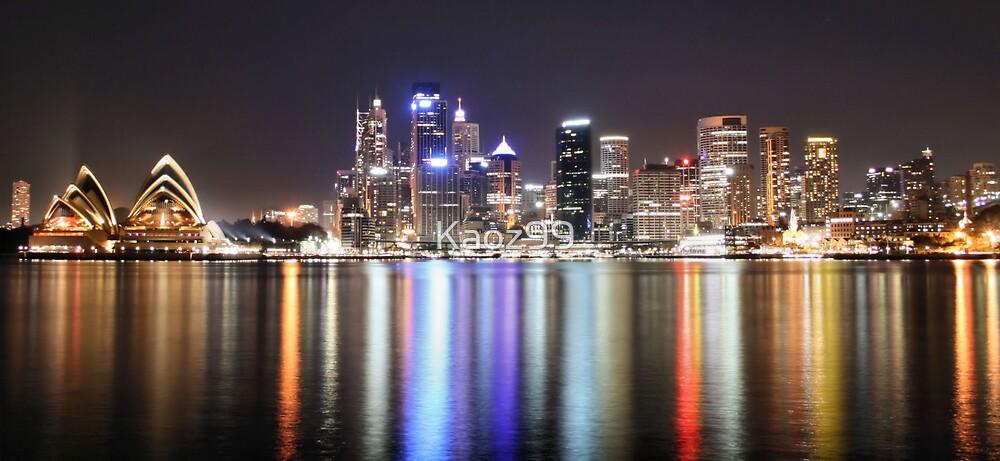 Sydney Harbour City Skyline by Kaoz99