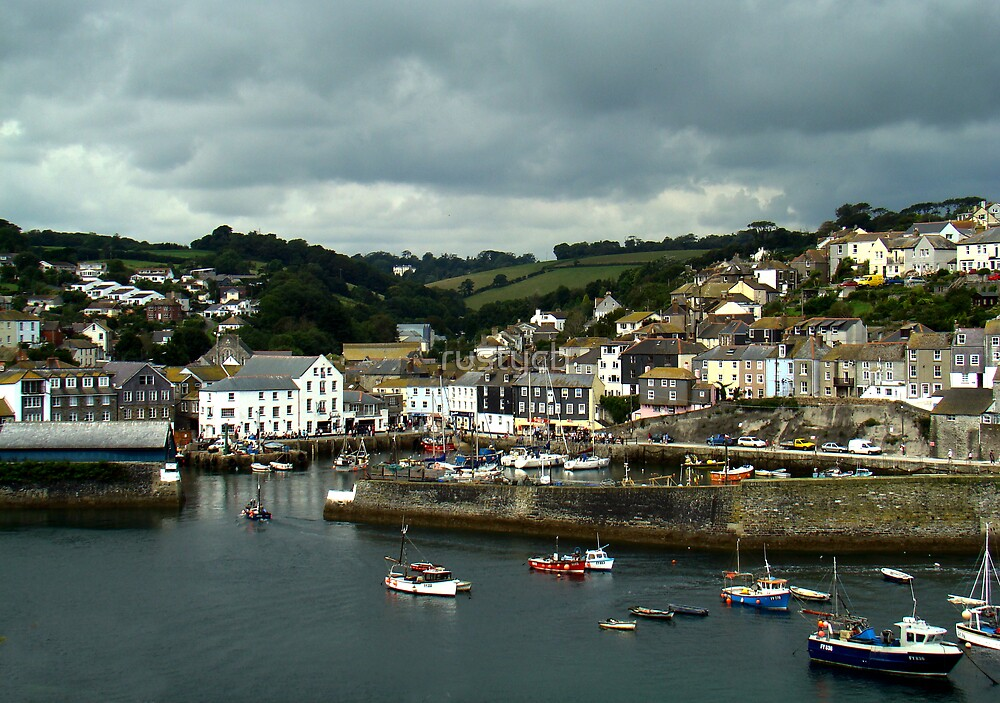 a cornish harbour by rustycb