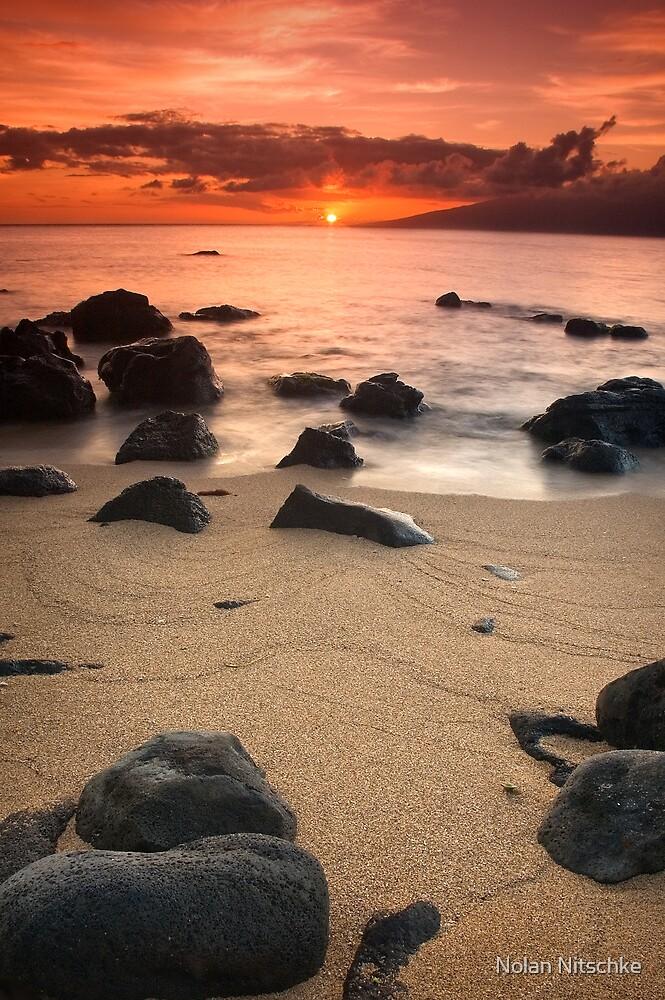 Hawaiian Sunset by Nolan Nitschke