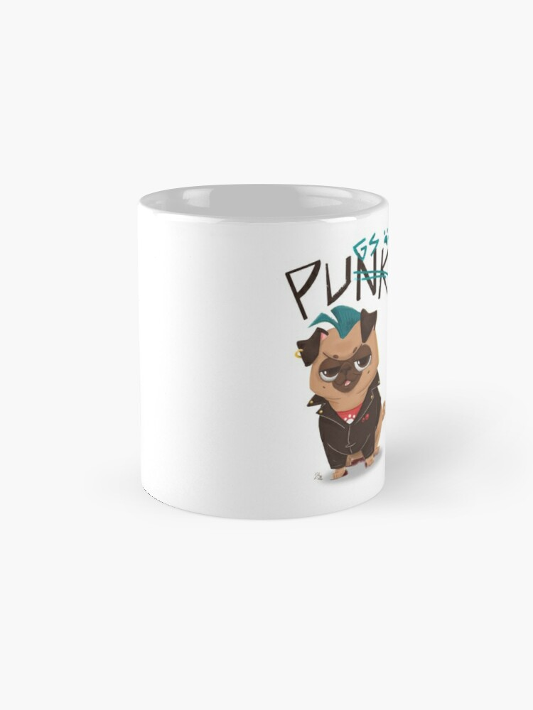 Alternate view of Punk? No, pugs! Mugs
