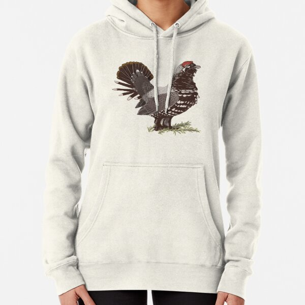 Spruce Grouse Pullover Hoodie