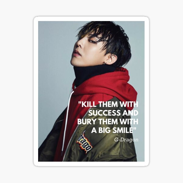 "gd // ""kill them with success"" Sticker"