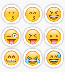 Smilies Emoji (Packung B) Sticker