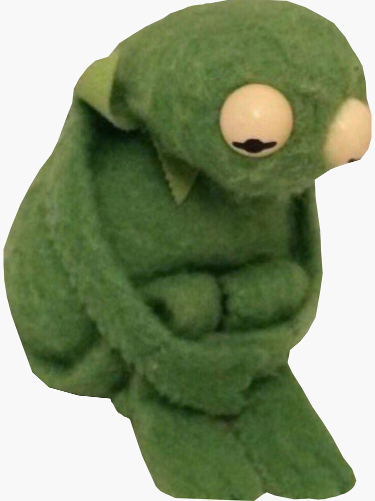 SAD KERMIT MEME de introvertd