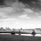 Uiterwaarden (Dutch River Landscape). by VanOostrum