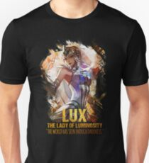 League of Legends LUX - THE LADY OF LUMINOSITY Unisex T-Shirt