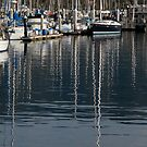 Mast Reflections by Jan  Wall