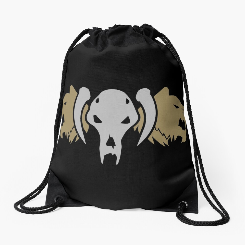 Space Wolves Warhammer 40k Drawstring Bag By Pixeptional Redbubble