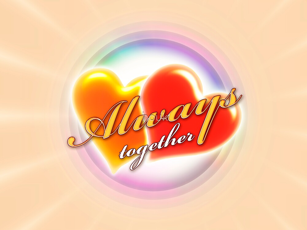 Always together 3 (card) by houk