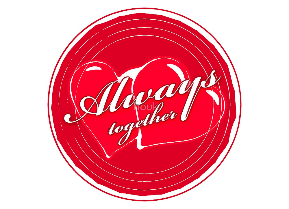 Always together 2 (card) by houk