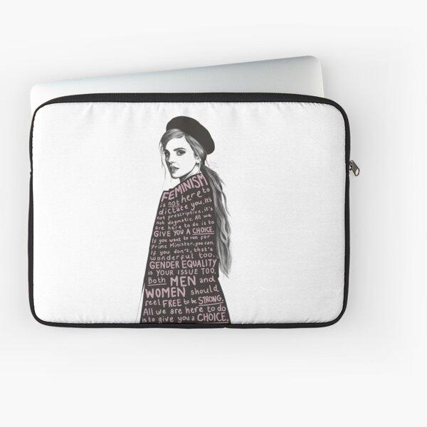 Emma Watson Feminism Design Laptop Sleeve
