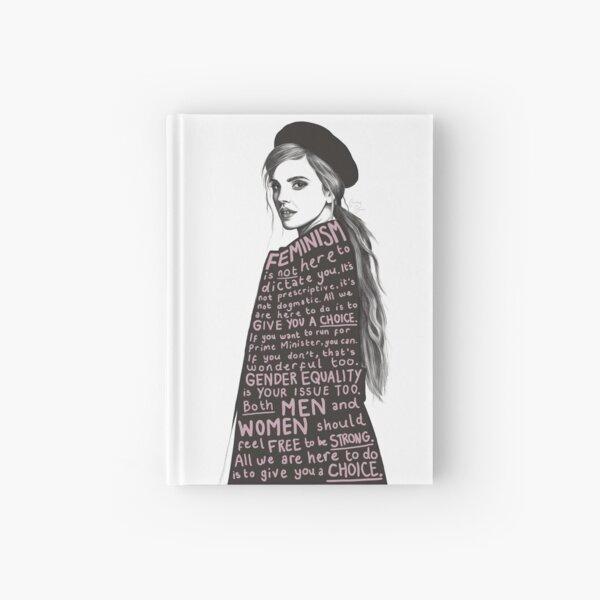 Emma Watson Féminisme Design Carnet cartonné