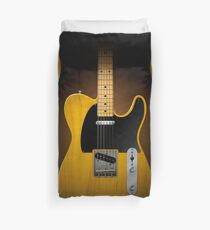 Electric Guitar Duvet Cover