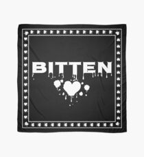 White Bitten Gothic Vampire in love with Dracula by Moose Disco Scarf