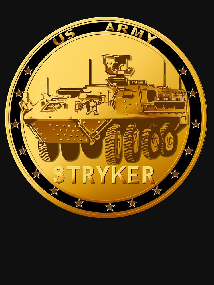 Golden Stryker Medal by Lotacats