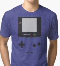Retro Game Green  Tri-blend T-Shirt