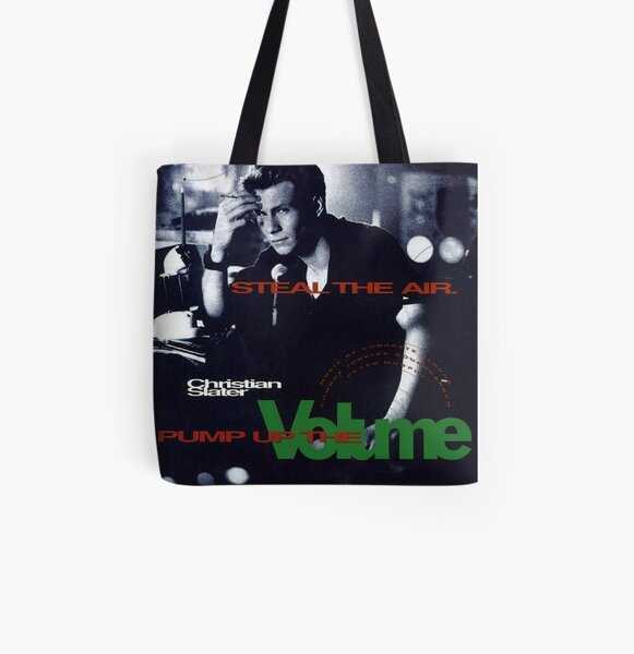 Pump Up The Volume All Over Print Tote Bag