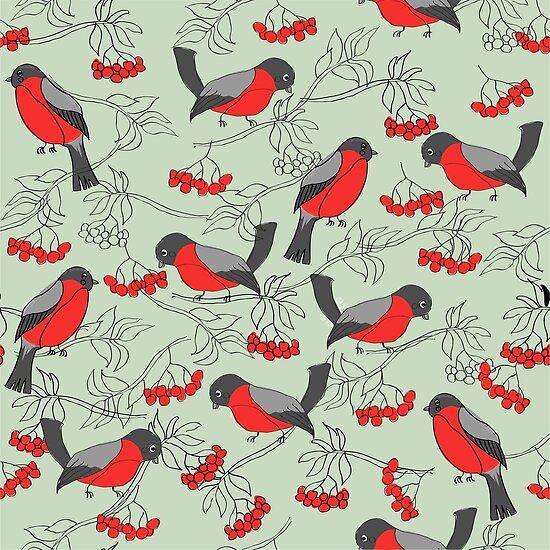 Robins Pattern by Nataliia-Ku