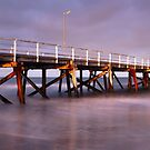 Semaphore Beach Pier, Adelaide, South Australia by Michael Boniwell