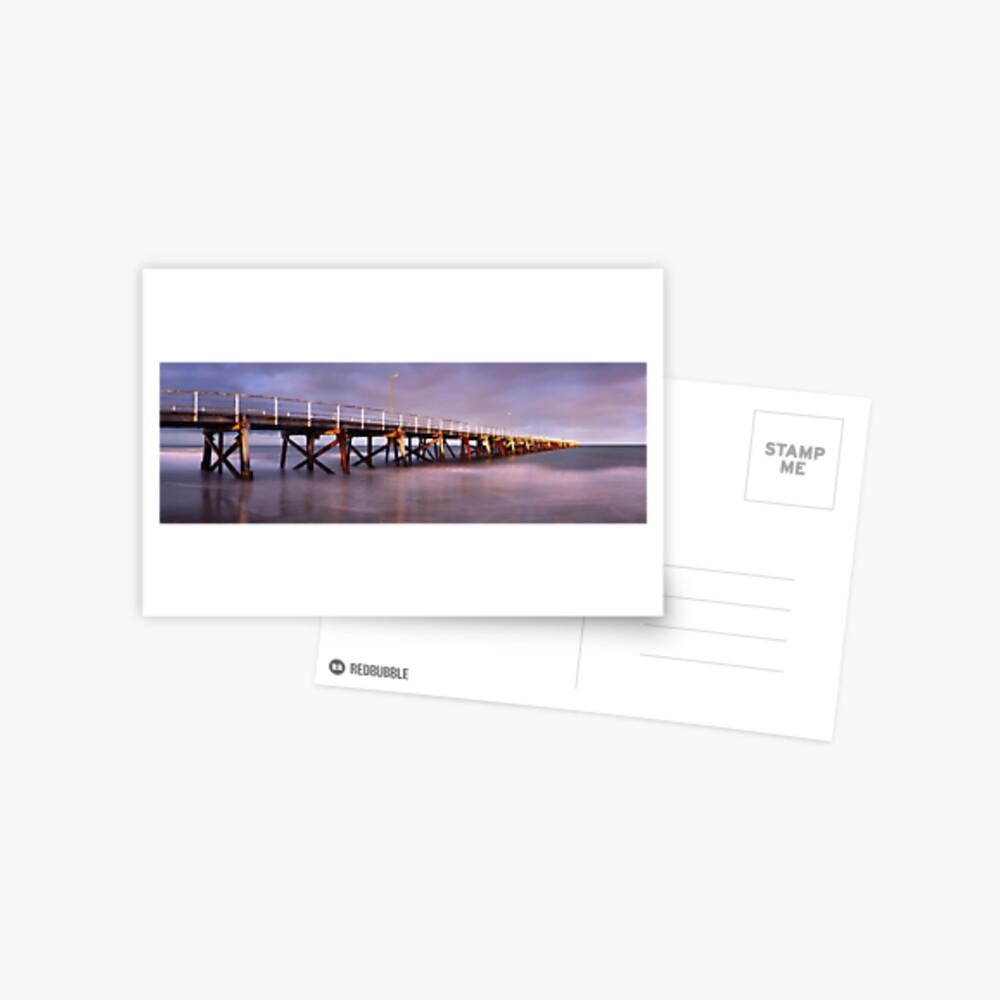 Semaphore Beach Pier, Adelaide, South Australia Postcard