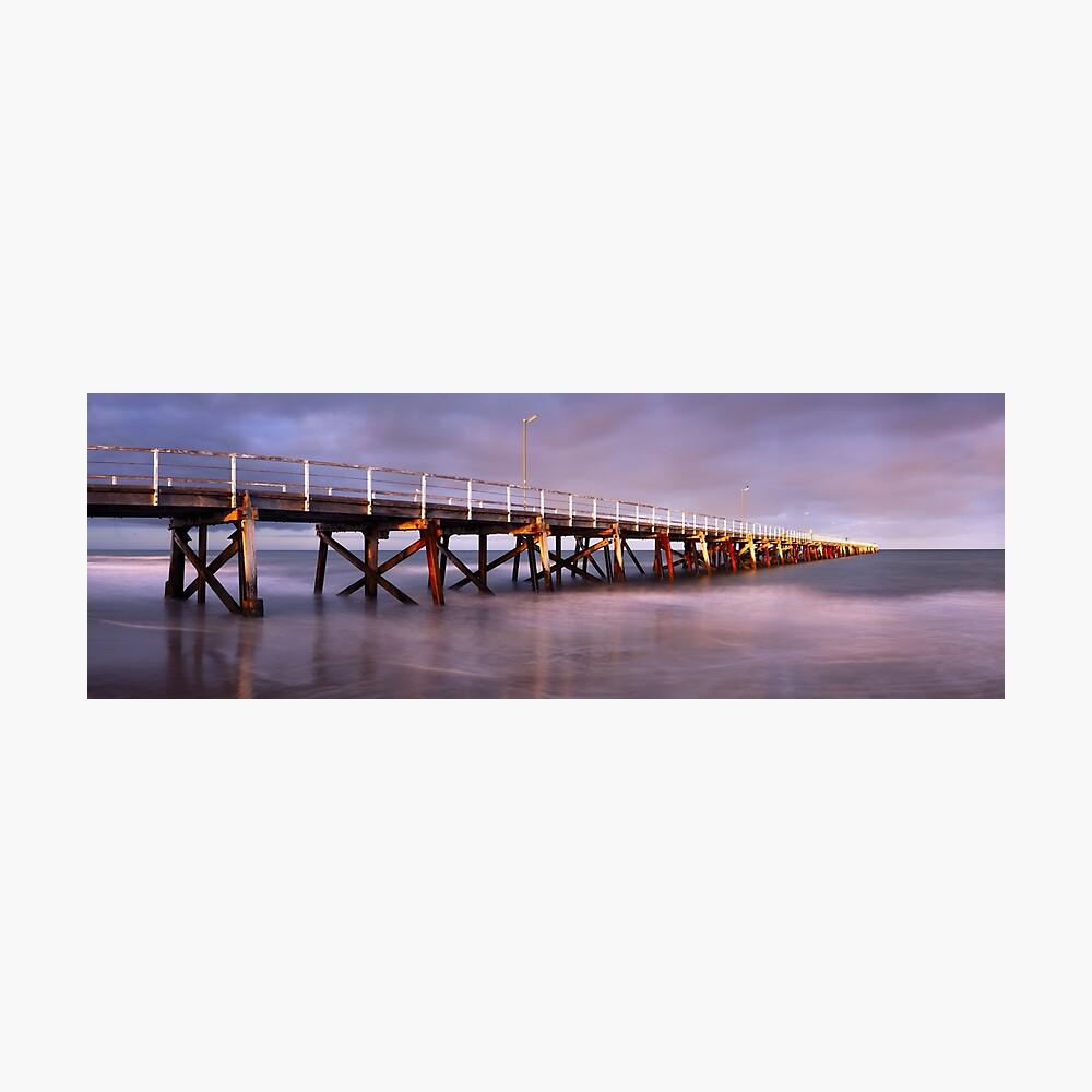 Semaphore Beach Pier, Adelaide, South Australia Photographic Print
