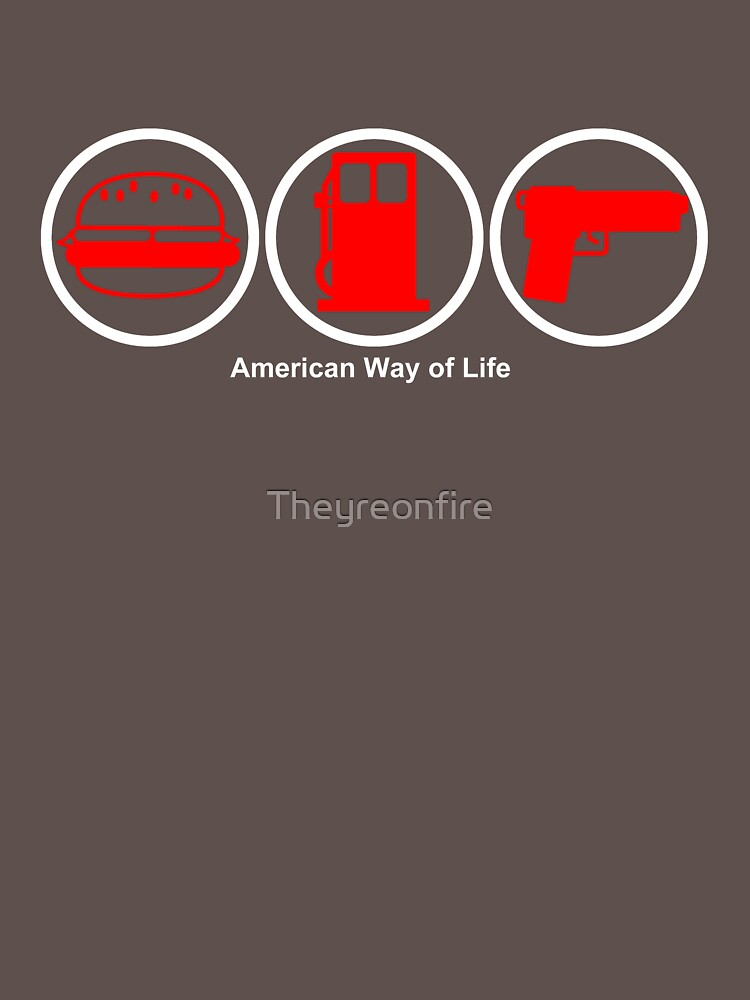 American Way of Life Alternate by Theyreonfire