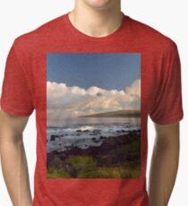 Sunrise on Easter Island Tri-blend T-Shirt