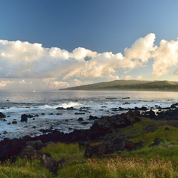 Sunrise on Easter Island by olarty