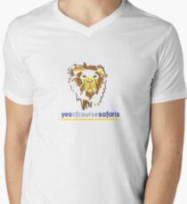 Yes Of Course Safaris Men's V-Neck T-Shirt