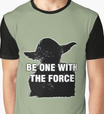 Be One With The Force Graphic T-Shirt