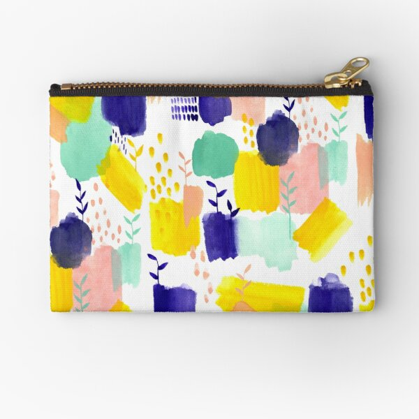 Abstract: Sunshine After The Rain Zipper Pouch