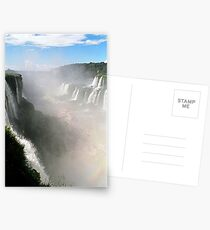 """Looking down the """"Devil's Throat"""" Postcards"""