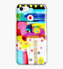 Abstract Art Rupy de Tequila Burned Rusted  iPhone Case/Skin