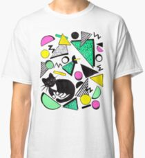 Mog Rad Cat - White Classic T-Shirt