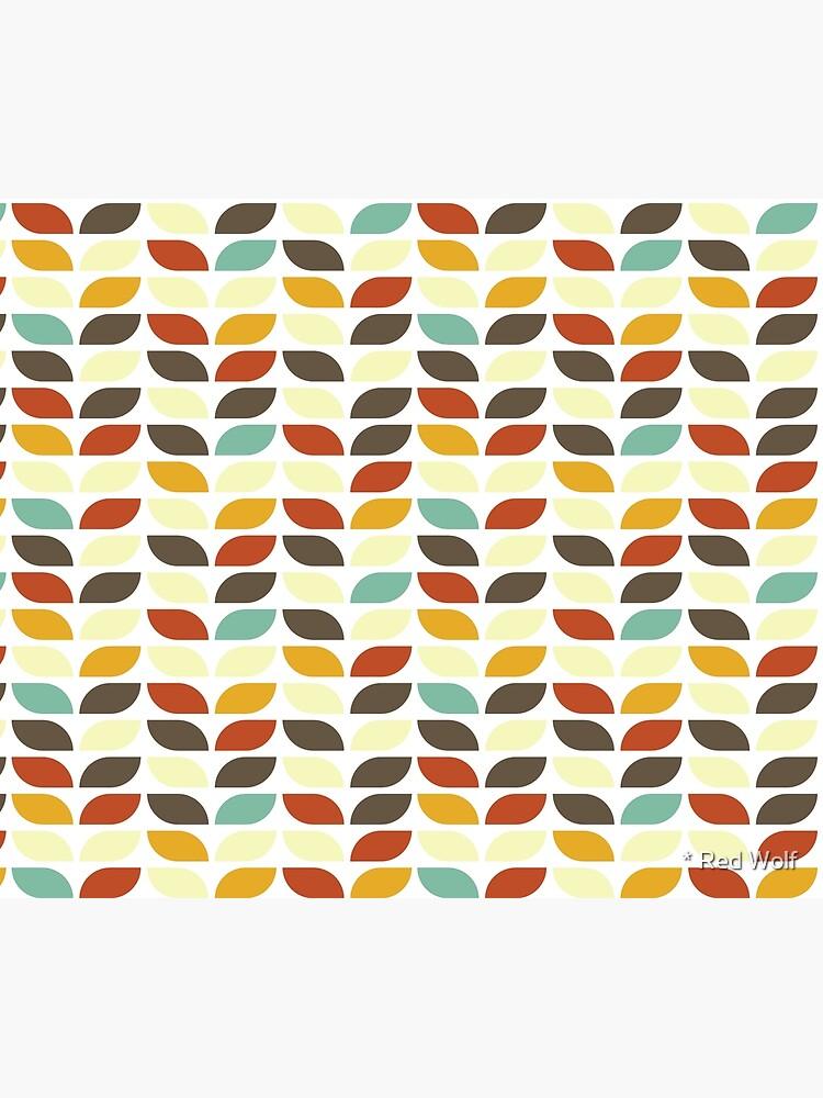 Geometric Pattern: Leaf: Fall by redwolfoz