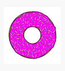 Donut worry Photographic Print