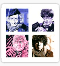 The First Four Time Travellers... Sticker