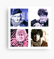 The First Four Time Travellers... Canvas Print
