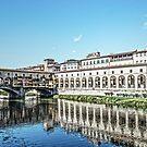 Ponte Vecchio Bridge Florence 2 by DavidWHughes