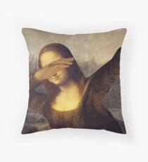 Mona Lisa Dab Meme Dekokissen