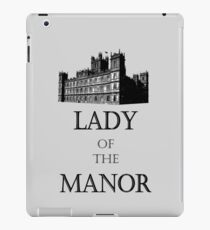 Lady of the Manor iPad Case/Skin