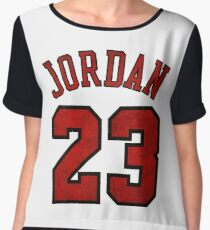 Jordan 23 Worn Women's Chiffon Top