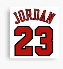 Jordan 23 Canvas Print
