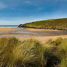 Porthcothan beach cornwall by eddiej