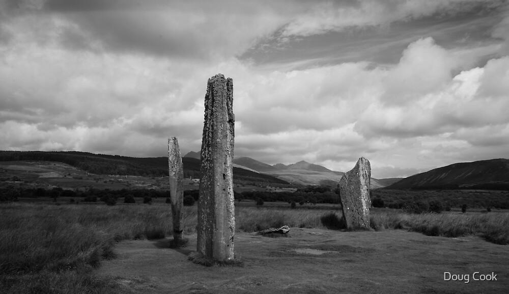 Standing Stones - Machrie Moor Arran by Doug Cook